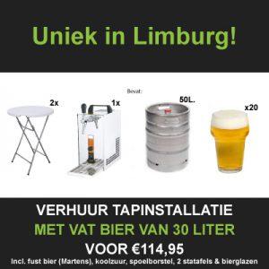Bierpakket huren Limburg