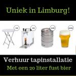 Huren van een Biertap in Heerlen