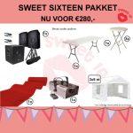 Sweet sixteen pakket huren Parkstad